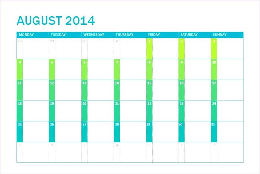 excel calendar template 2014 n1181