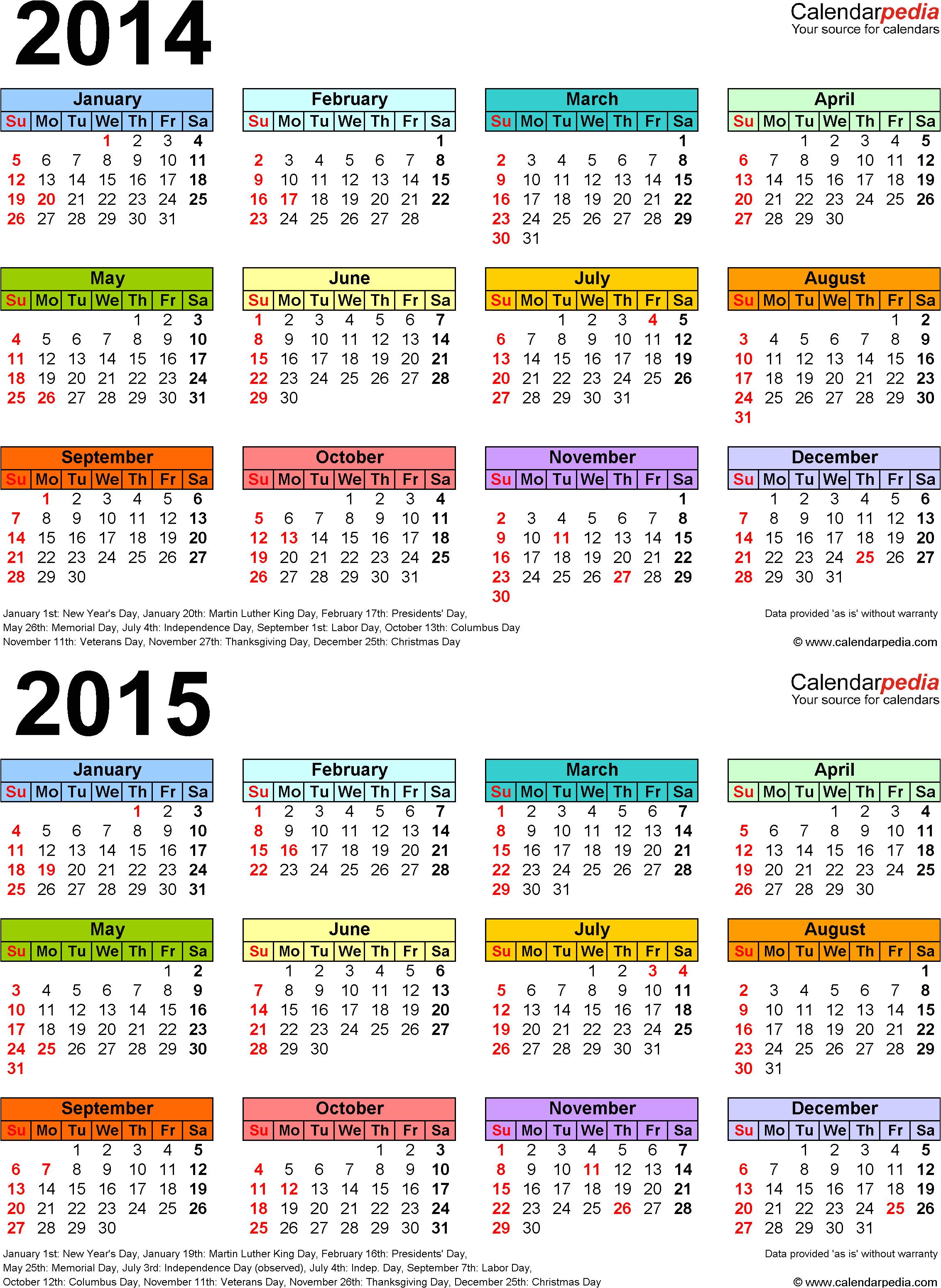 post blank calendar template 2014 2015 148958