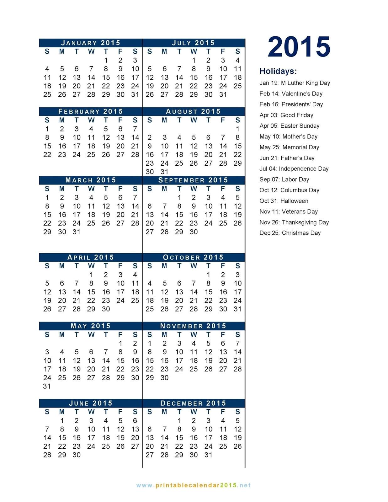 iupui holiday list 2015