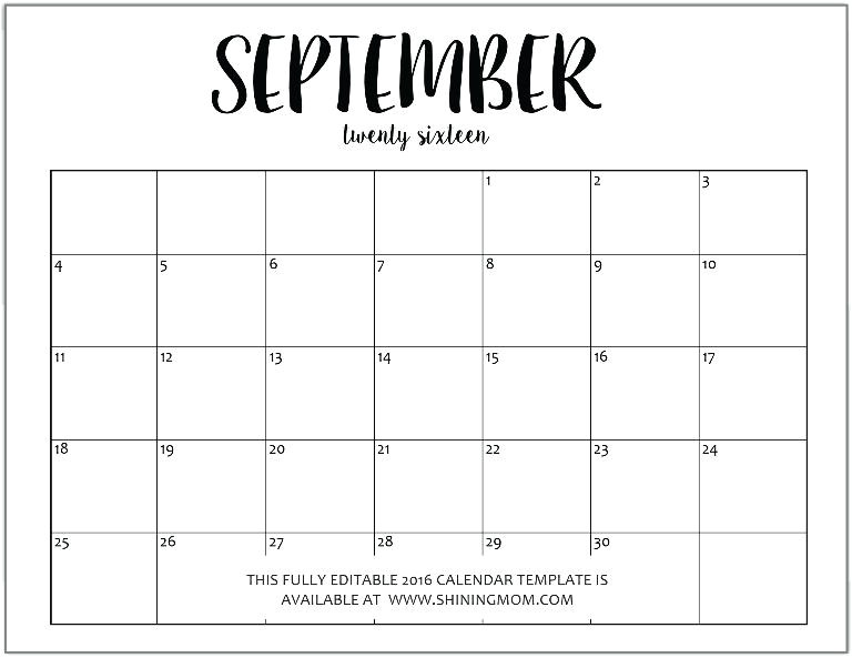 2015 Monthly Calendar Template for Word November 2015 Calendar Template Word Calendars