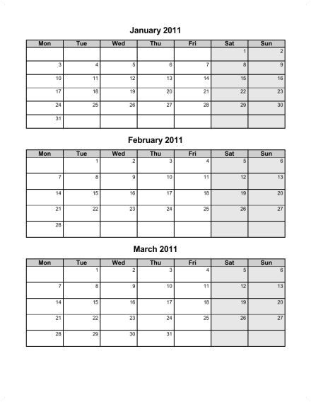 post 4th quarter 2015 calendar printable 375408