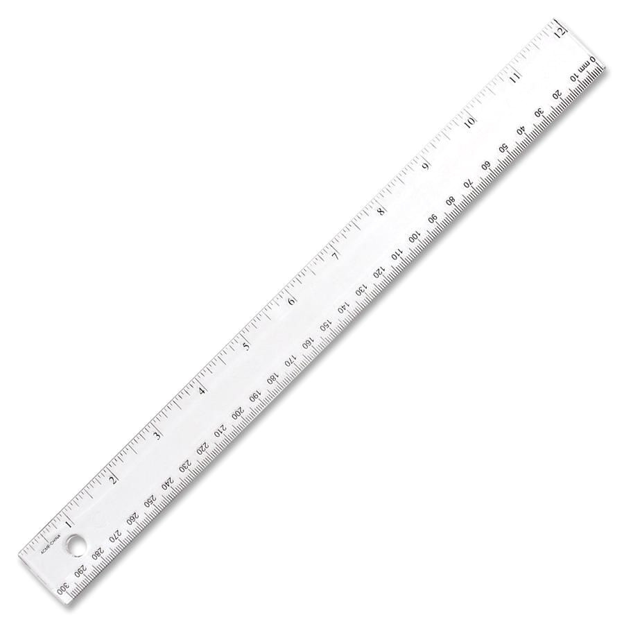 1230cm clear rulers shatter proof clear plastic ruler single 8585 p