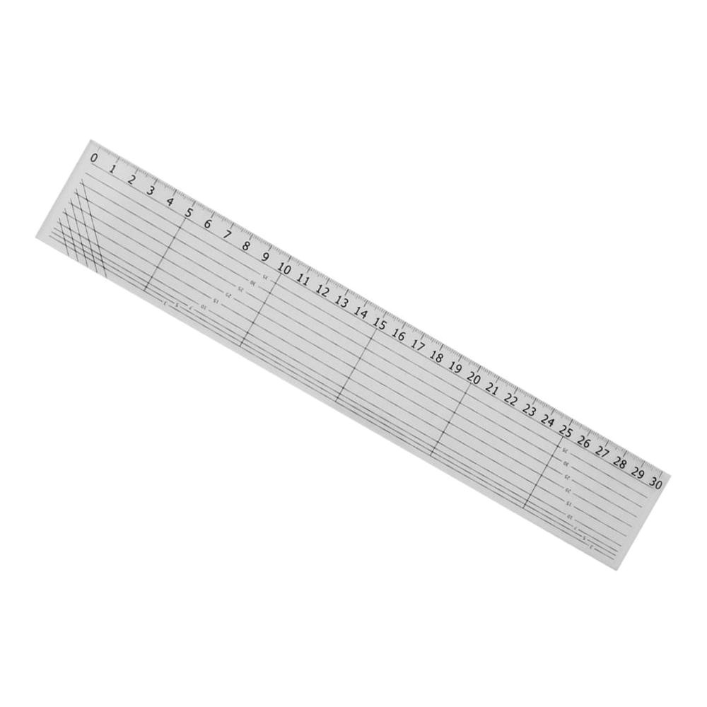 30cm Ruler Template 30cm Acrylic Quilt Ruler Patchwork Acrylic Template Sewing