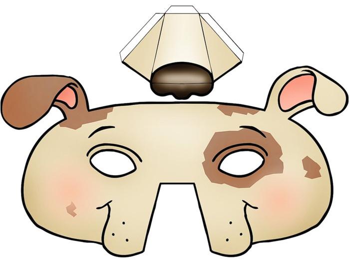 kids face masks templates halloween