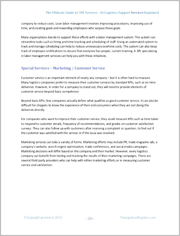 3pl example 3pl contract template unique pdf word excel templates itpye oprei