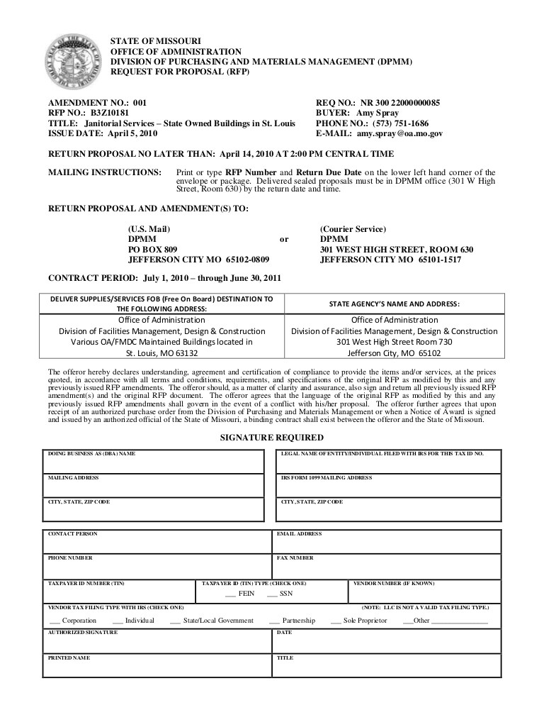 3pl Rfp Template Insurance Rfp Template why You Must Experience Insurance