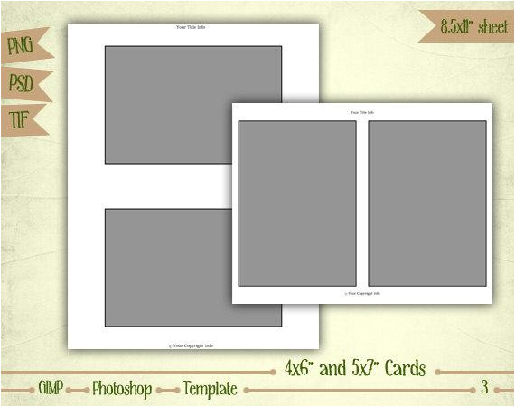 4x6 collage templates