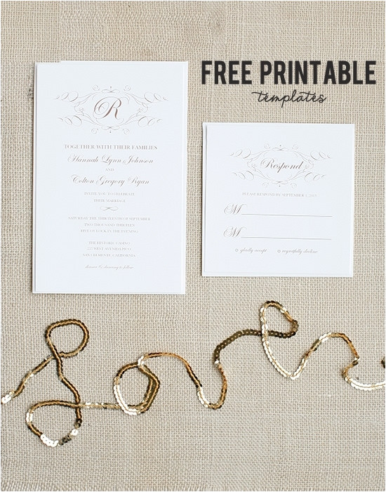 invitation templates 4x6 free