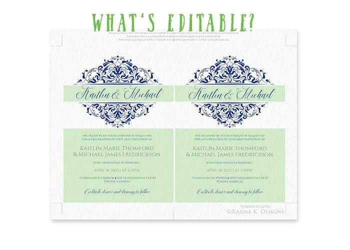 wedding invitation template concept from 4x6 wedding invitation template