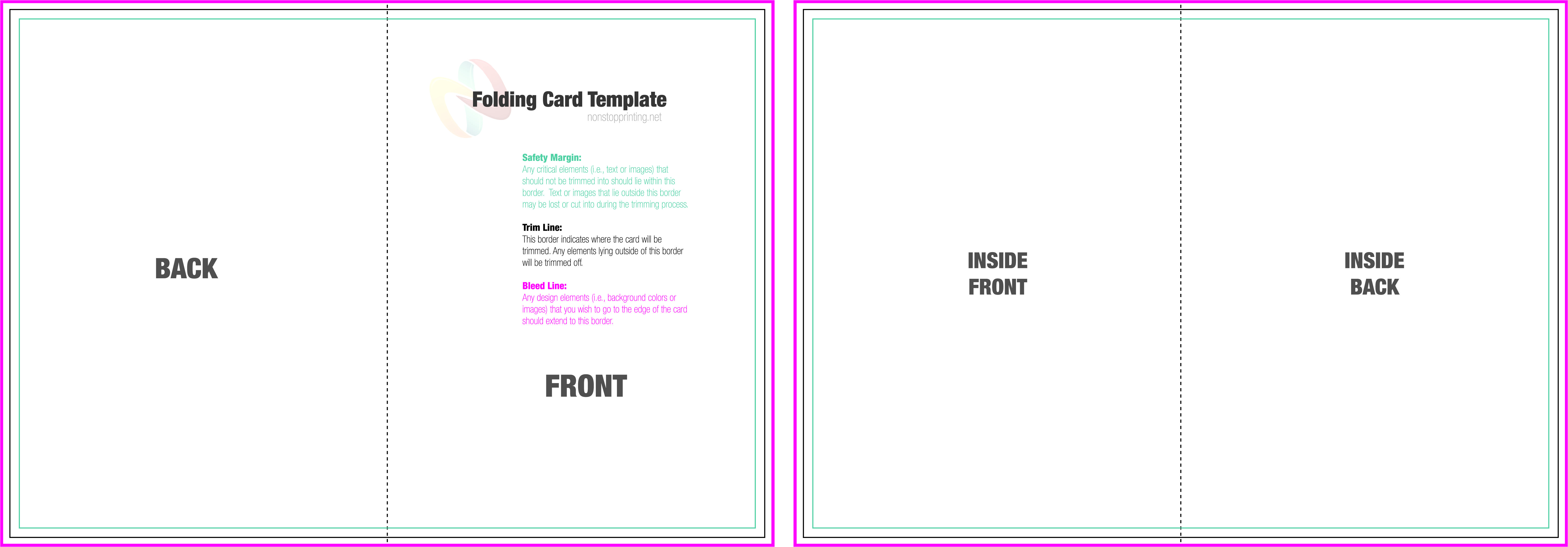 p 5 x 7 word template 825961