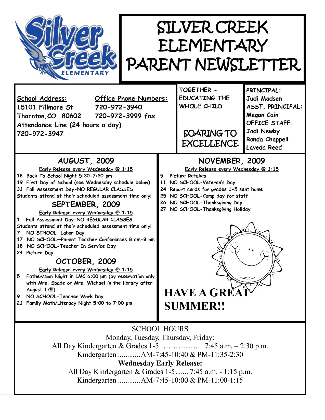employee newsletter templates awesome 5th grade newsletter template inspirational unique newspaper