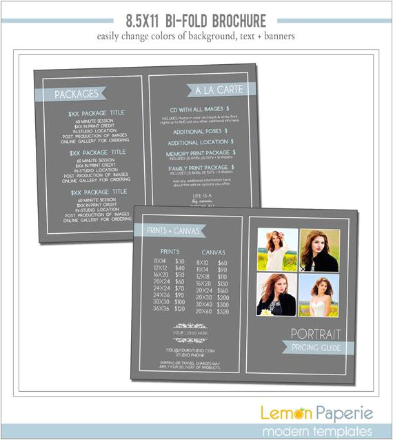 85x11 brochure template marketing