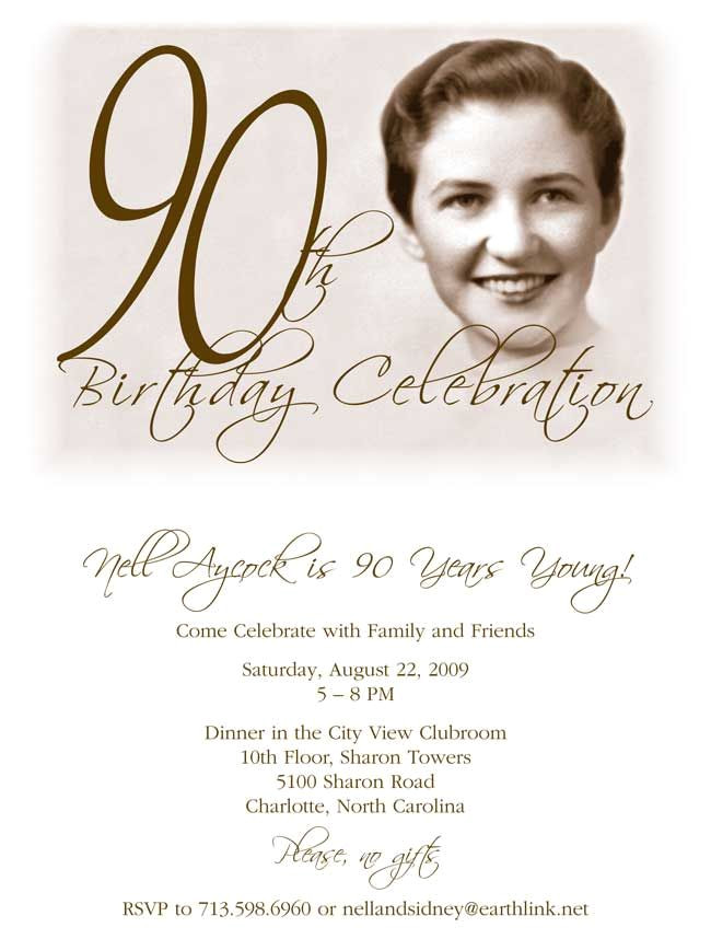 90 Birthday Invitation Templates Best 25 90th Birthday Invitations Ideas Only On Pinterest