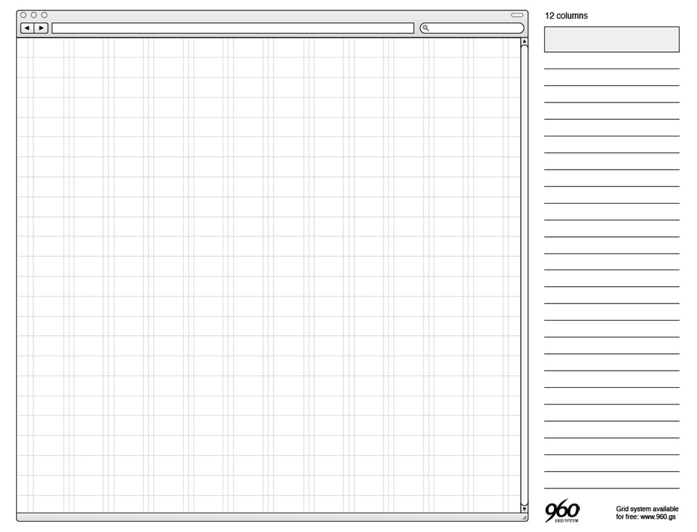free printable sketching wireframing templates