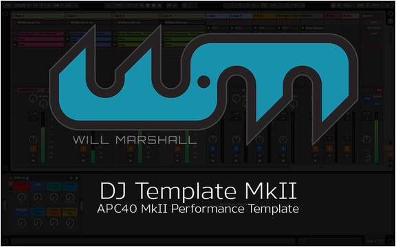 ableton dj template for the apc40 by will marshall free download programs