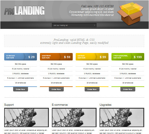 50 effective landing page templates for your products