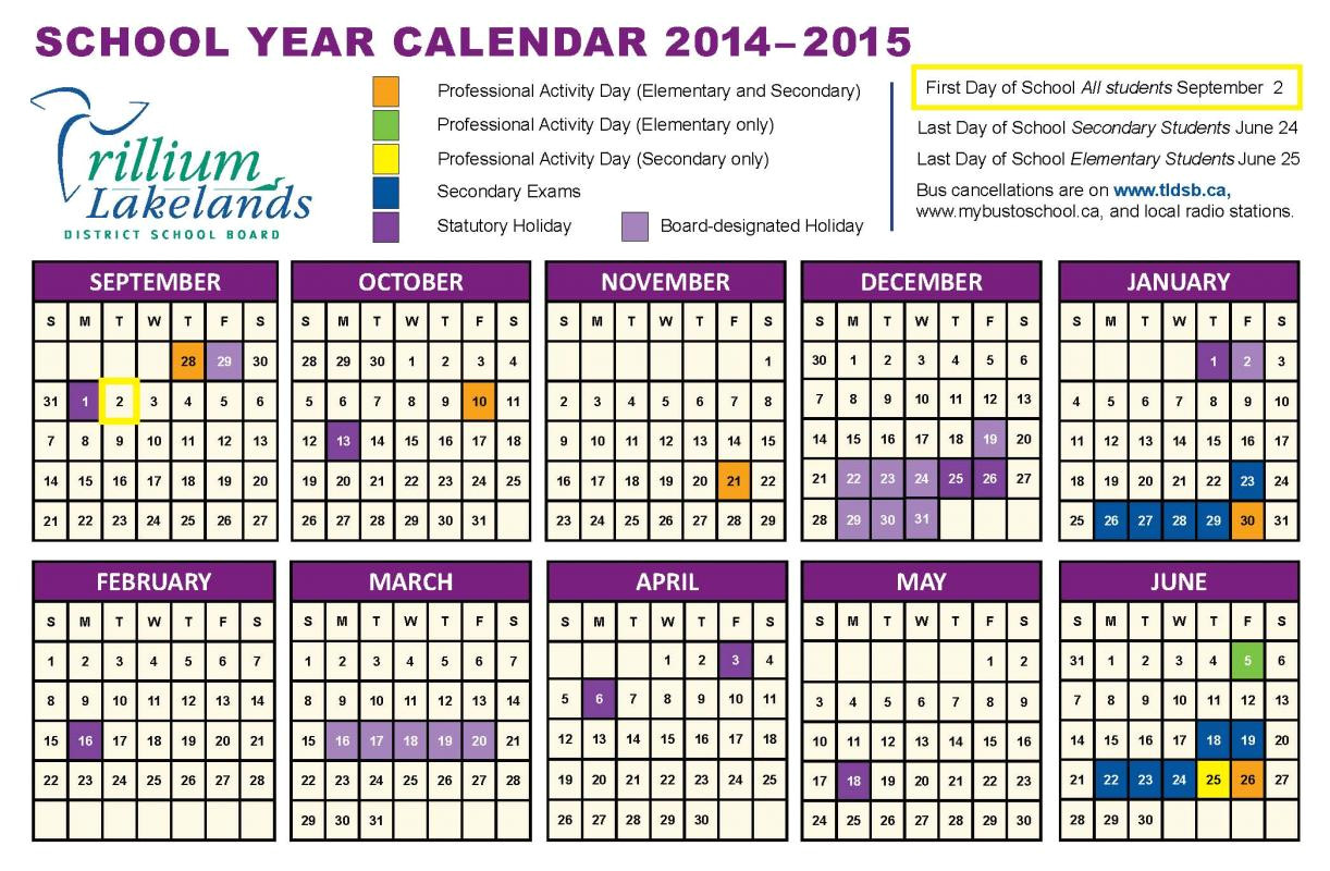 printable school year calendar 2014 15