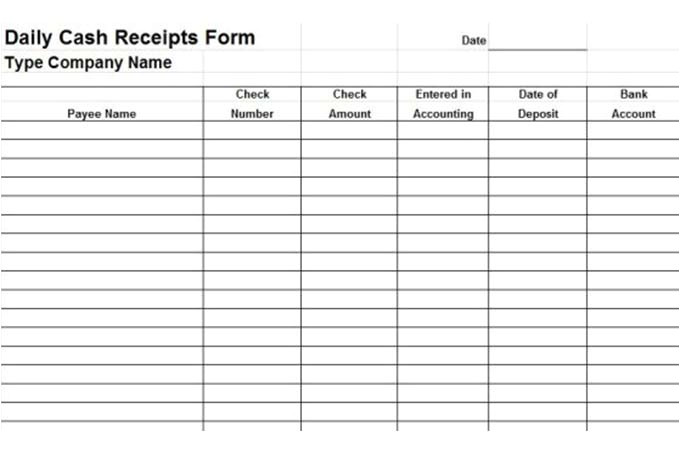 accounts receivable forms
