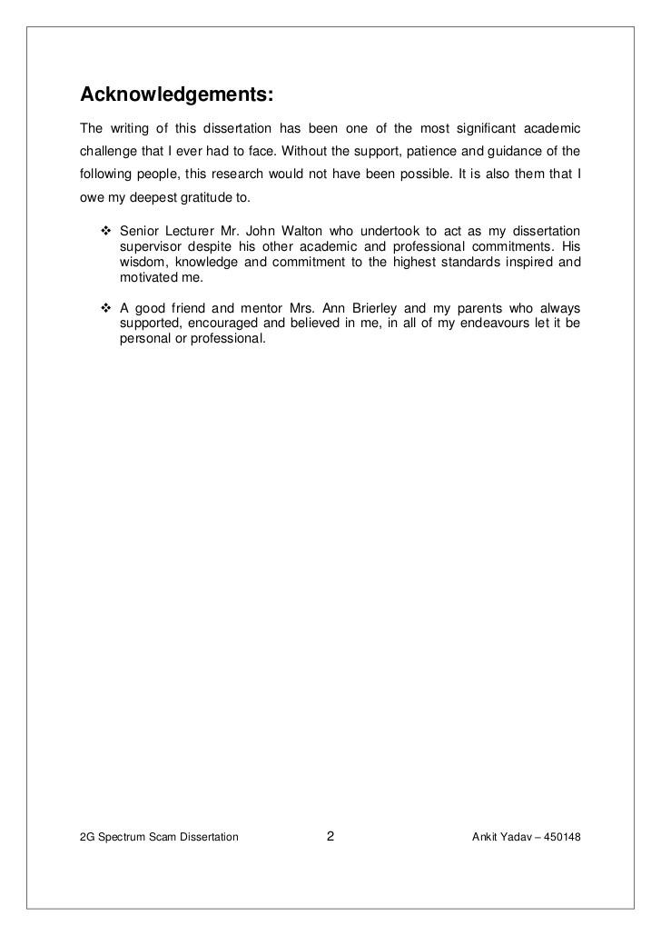 4592 dissertation acknowledgements template