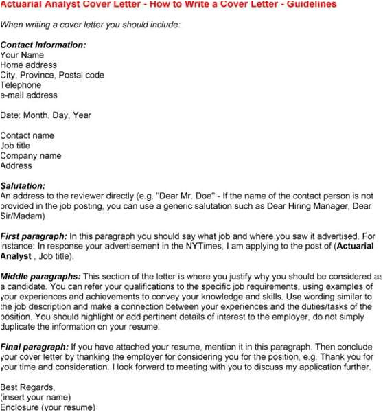 Actuarial Internship Cover Letter Click to View A Sample Actuarial Cover Letter