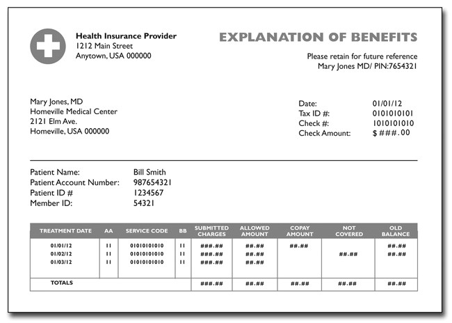 post medical payment receipt template 297427
