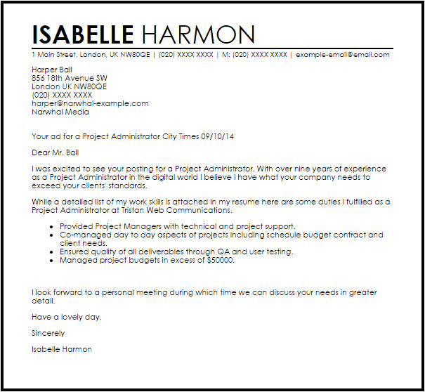 project administrator
