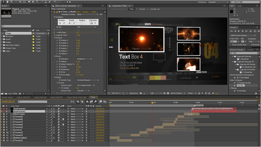 adobe after effects templates torrent