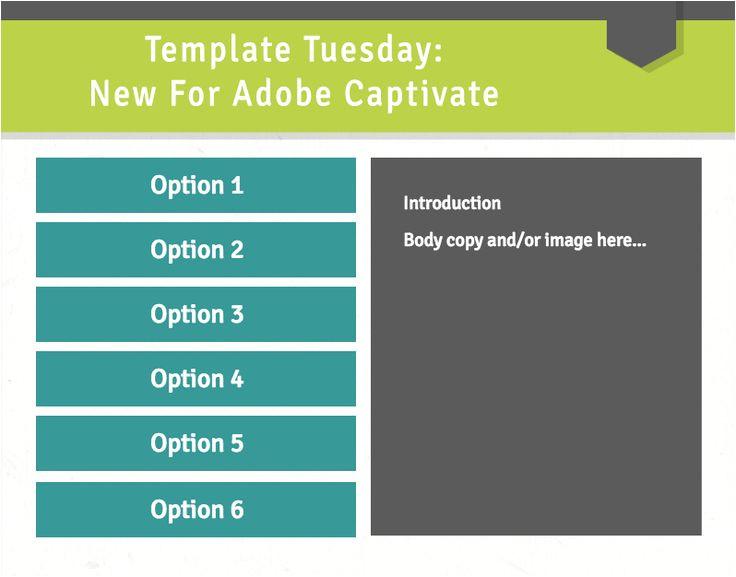 adobe captivate templates
