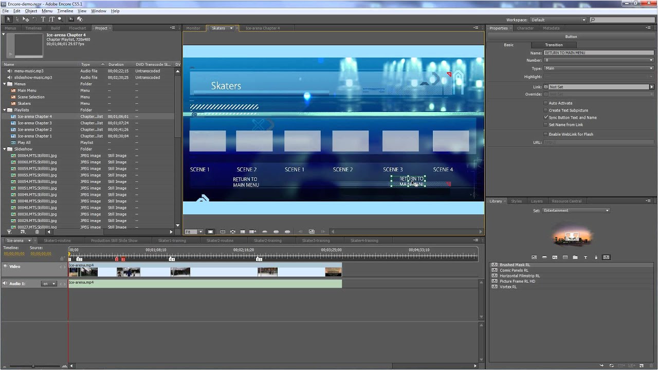 adobe encore cs5 templates