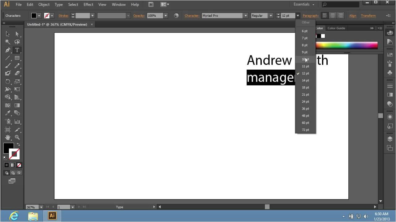 Adobe Illustrator Cs6 Templates How to Create Adobe Illustrator Cs6 Templates Youtube