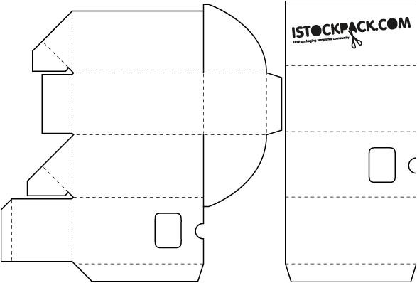 Adobe Illustrator Packaging Templates Packaging Templates Free Vector In Adobe Illustrator Ai