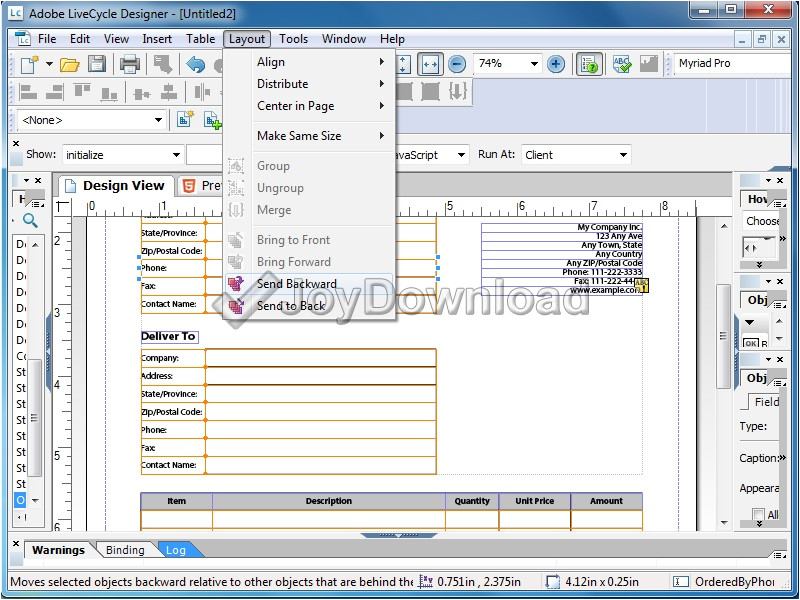 adobe livecycle designer es4 software