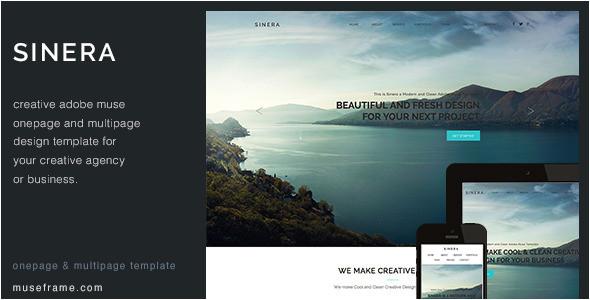 adobe muse photography portfolio templates