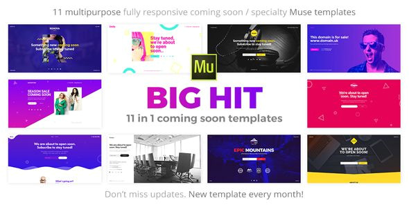 adobe muse mobile templates new bighit 11 in 1 ing soon responsive muse templates