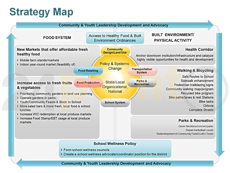 Advocacy Strategy Template Strategy Map Community and Youth Leadership Development