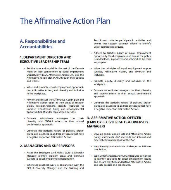 Affirmative Action Policy Template Download Guerrilla Marketing for Consultants Breakthrough