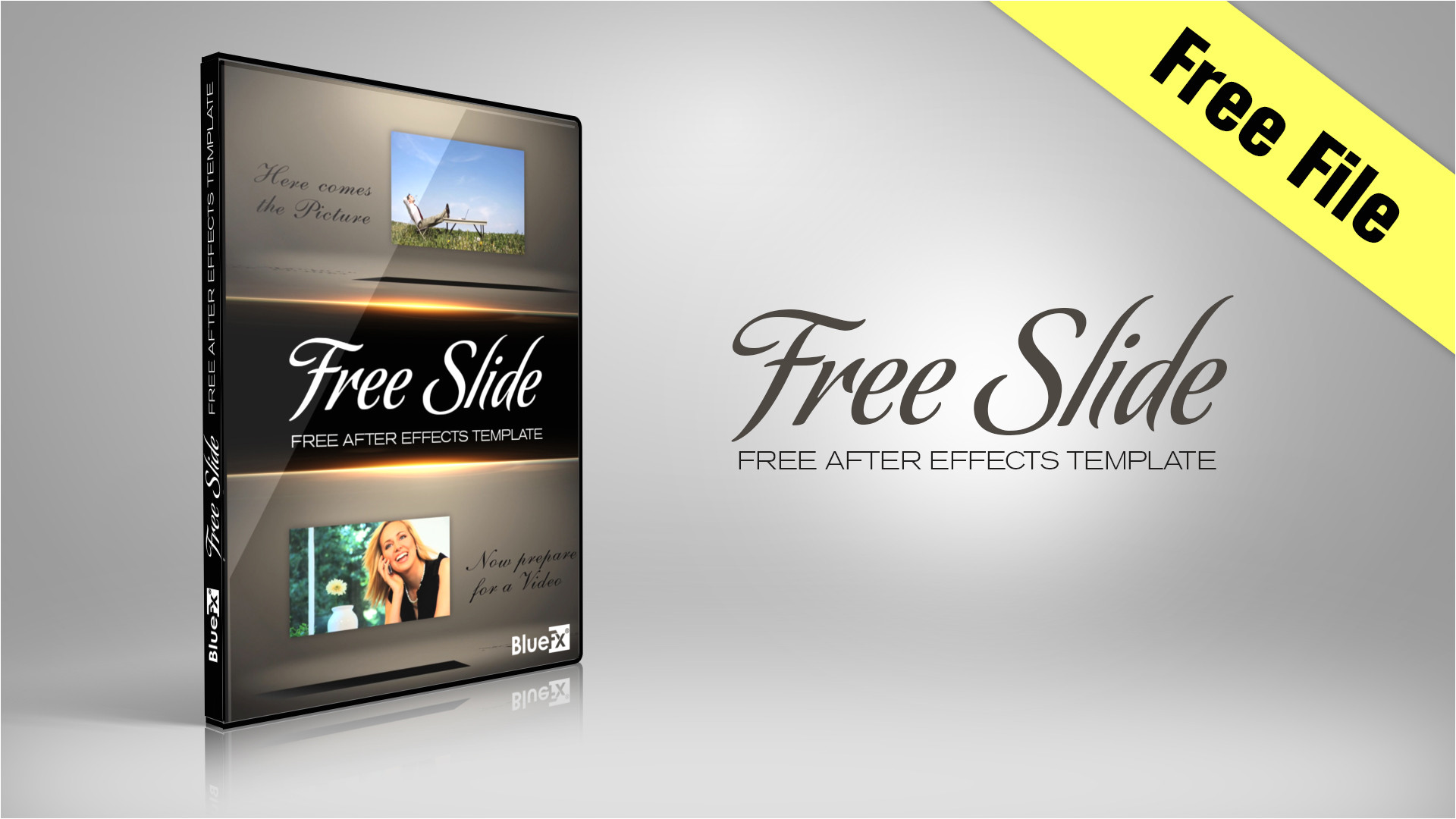 freeslide free after effects template