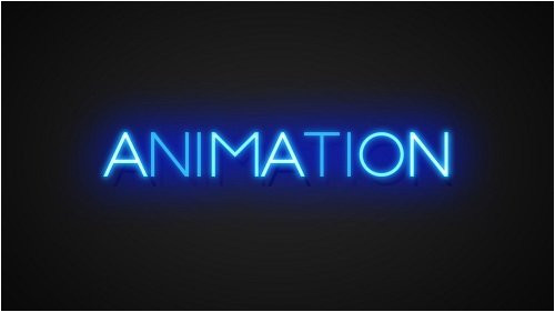 After Effects Animated Text Templates Neon Text Effects toolkit 3d Animated Color Glow Text