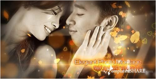 10587 elegant photo montage after effects project videohive