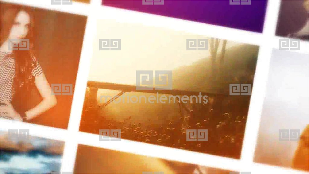 after effects template 9091233 photo montage