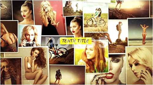 After Effects Photo Montage Template Photo Montage after Effects Templates Downturk