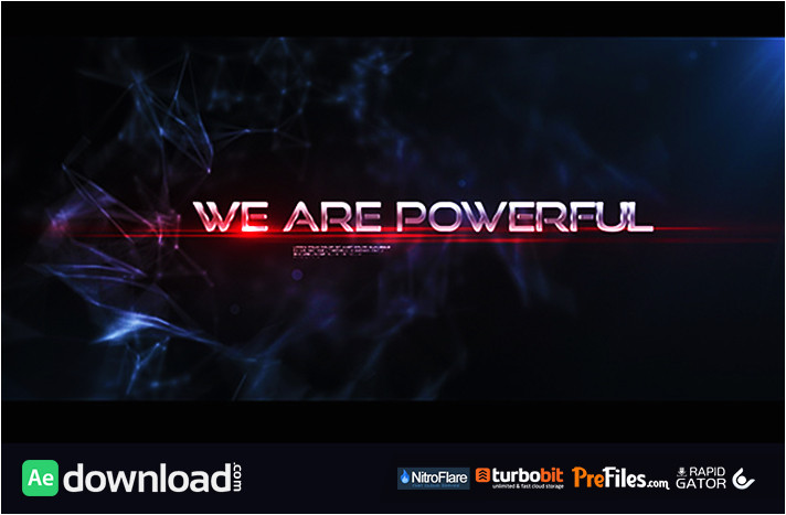 glitchy trailer videohive project free download