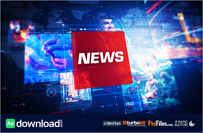 news pro videohive project free download