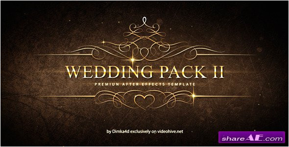 3297 wedding pack ii after effects project videohive