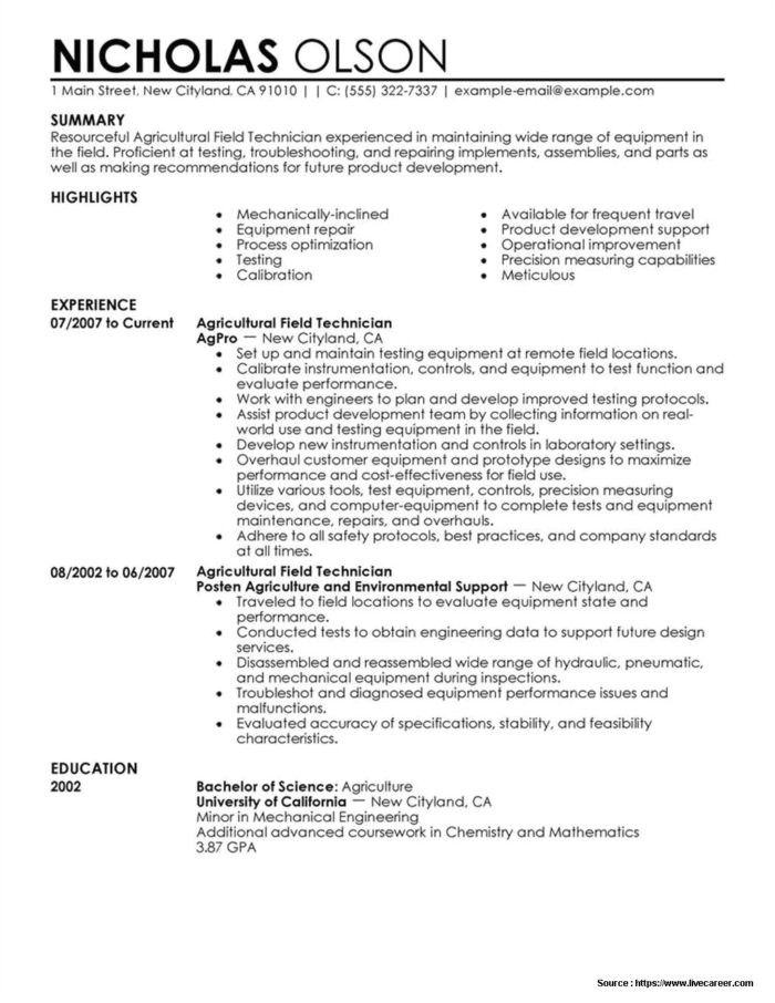 Air Conditioning Technician Resume Samples Hvac Service Technician Resume Templates Resume Resume