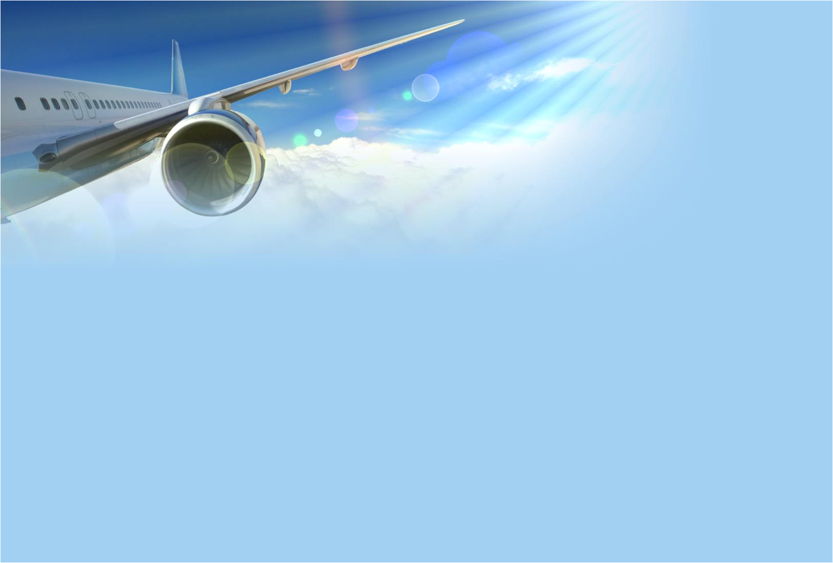 Airplane Ppt Template Free Air Travel Airplane Backgrounds for Powerpoint Car