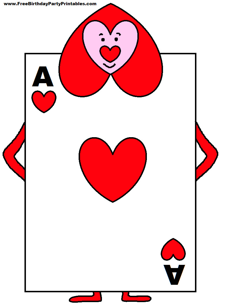 Alice In Wonderland Card soldiers Template Playing Card soldiers From Alice In Wonderland Yahoo