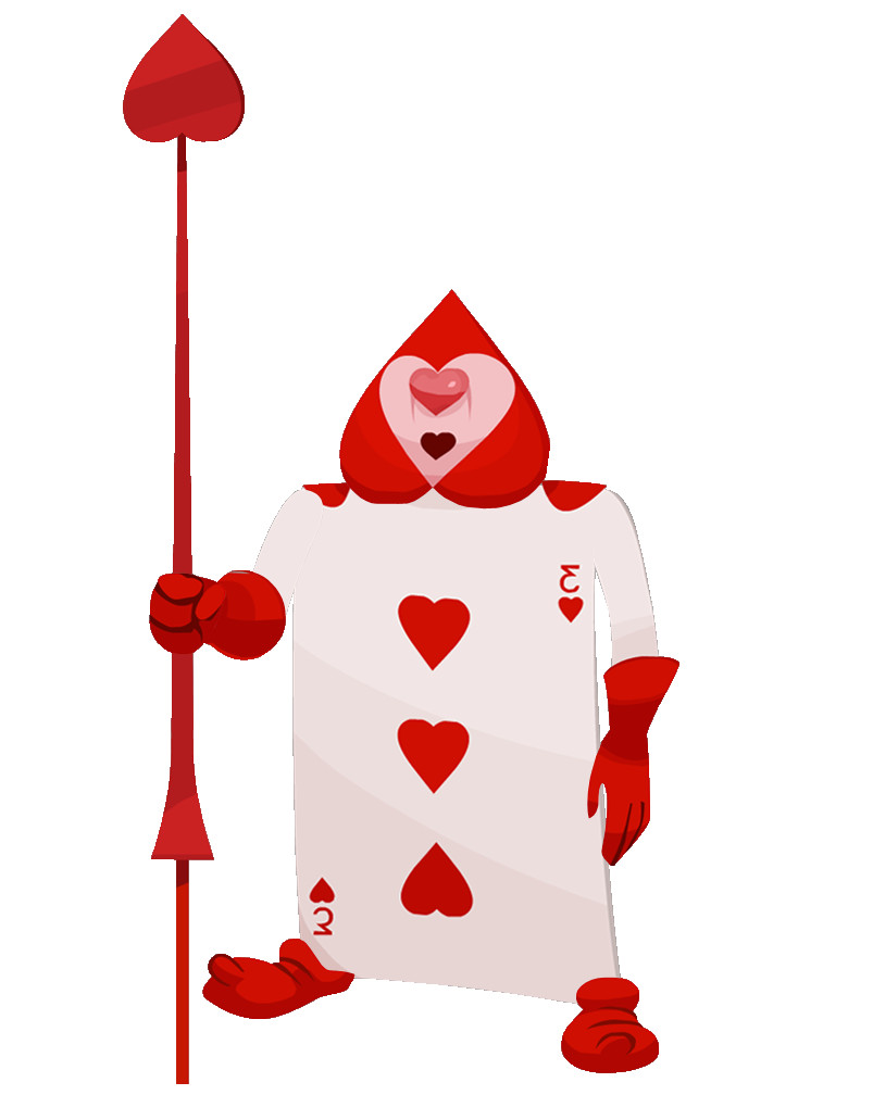 Alice In Wonderland Card soldiers Template Queen Of Hearts soldier Card Google Search Punch Art