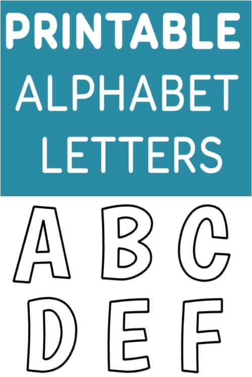 Alphabet Letter Templates for Teachers Printable Free Alphabet Templates