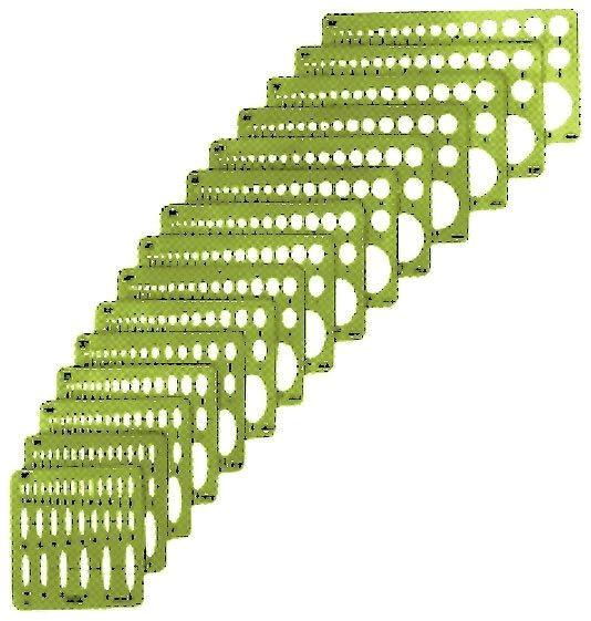 alvin small series 15 ellipse templates